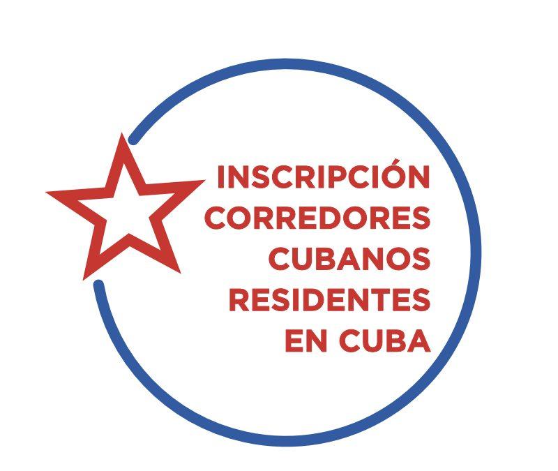 """Inscripción para los corredores cubanos """"residentes en Cuba"""""""