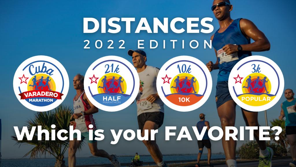 2022 Varadero Marathon - Distances